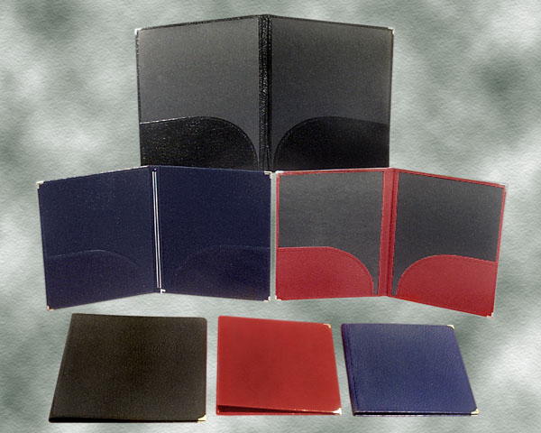Leatherette Folios